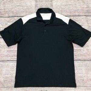 Nike Dri Fit Golf Men's Polo Shirt Black Medium